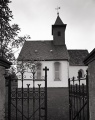 Countryside church, Pohlen (Ilford FP4+)
