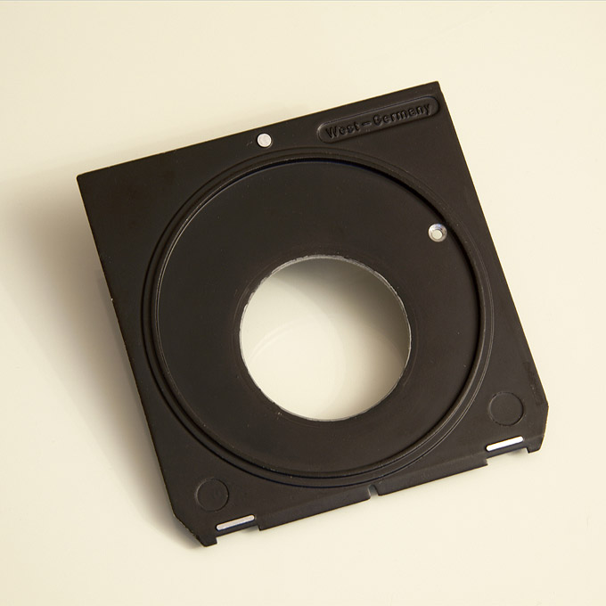 Linhof lensboard for shutter size 1 (rear)
